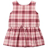 Burberry Bright Rose Updated Check Mini Mabel Dress