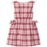 Burberry Pink Check Candra Dress