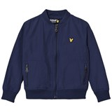 Lyle & Scott Navy Lightly Wadded Bomber Jacket