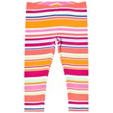 Lands' End Multi Coloured Striped Leggings