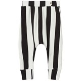 Popupshop Black and Off-White Baggy Leggings