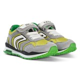 Geox Green and Lime Velcro Pavel Trainers