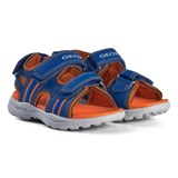 Geox Blue and Orange Gleeful Sandals