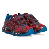 Geox Red Android Character Velcro Light Up Trainers