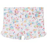 Dr Kid White Floral Frill Shorts