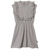 NUNUNU Heather Grey Apron Dress