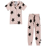 NUNUNU Powder Pink Buttoned Loungewear