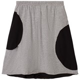 NUNUNU Heather Grey Circle Skirt