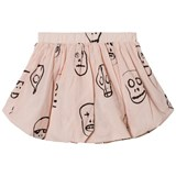 NUNUNU Powder Pink Skull Mask Balloon Skirt