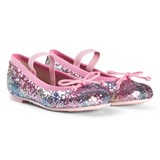 Pretty Ballerinas Rainbow Glitter Hannah Pumps