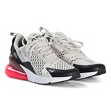 Nike Light Grey and Black Air Max Shoes