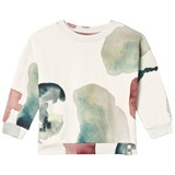 Popupshop Cream Water Flower Sweater