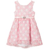 Dr Kid Pink and White Spotted Lace Dress with Belt