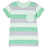 Geggamoja Green Striped T-Shirt