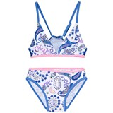 Platypus Australia Blue Boho Paisley Two Piece Swimsuit
