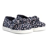 Toms Navy Ditzy Daisy Bow Espadrilles