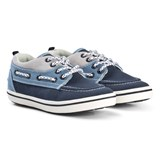 Mayoral Blue and Navy Boat Shoes