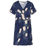 Emma och Malena Maternity Julia Dress Manet Navy