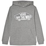 Vans Grey Branded Hoodied Pullover