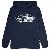 Vans Navy Branded Hooded Pullover