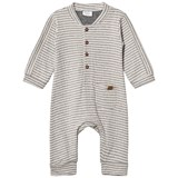 Hust&Claire Grey and White Antelope Jumpsuit