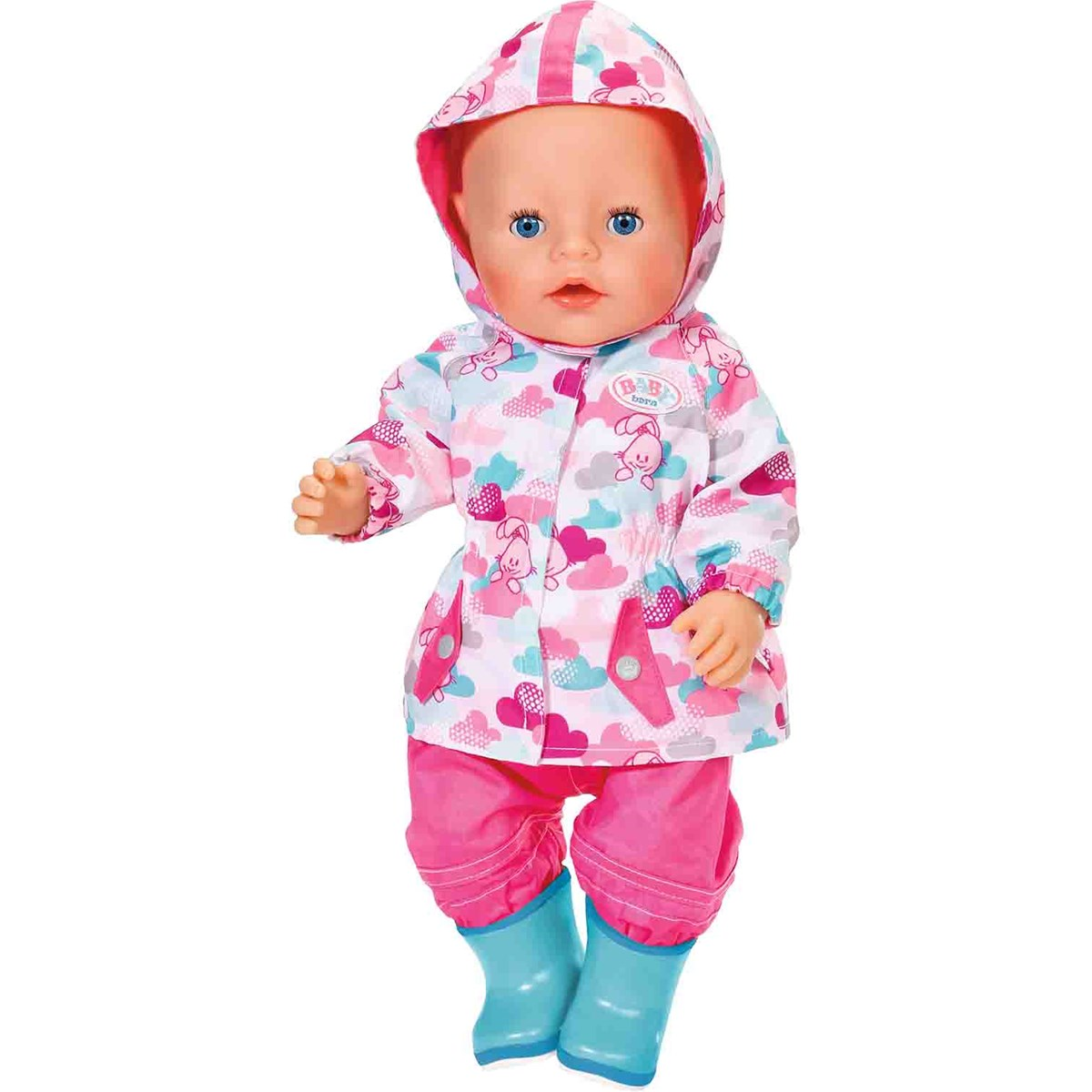 4935afe21 Baby Born Deluxe Fun in the Rain Outfit