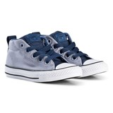 Converse Grey Chuck Taylor All Star Street Junior Hi Tops