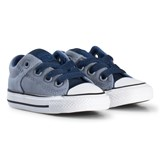 Converse Grey Chuck Taylor All Star Infant Trainers