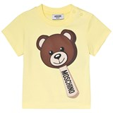 Moschino Yellow Bear Ice Cream Print T-Shirt