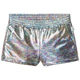 Little Marc Jacobs Silver Oil Effect Shorts