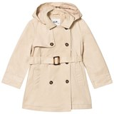 Cyrillus Beige Trenchcoat with Detachable Hood