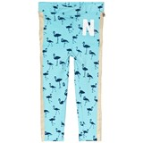 Nova Star Blue Flamingo Print Leggings