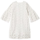 How To Kiss A Frog White Lace Trine Dress