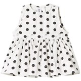 How To Kiss A Frog White Polka Dot Ninni Dress