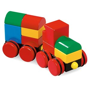 BRIO Magnetic Stacking Train 12 months - 5 years