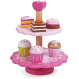 Classic World Cupcake stand in wood