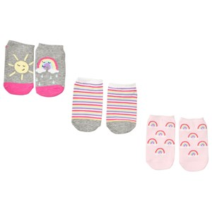 Gap Pack of 3 Rainbow Socks L (10-11 y)