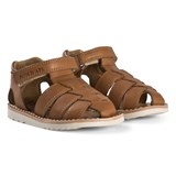 Pom D'api Brown Waff Papy Sandals