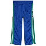 MSGM Blue Technical Logo Track Pants