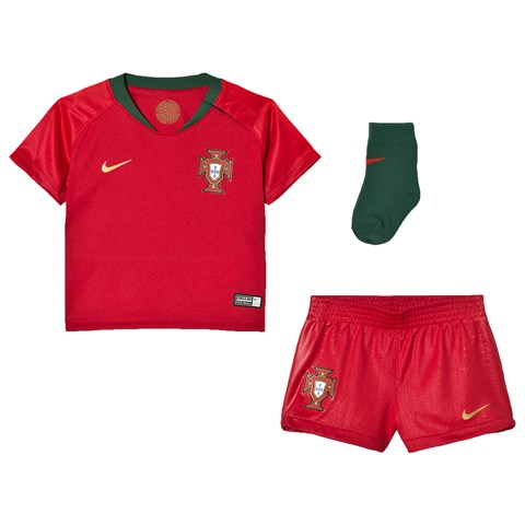 Portugal National Football Team Nike Breathe Portugal Home Infants Kit