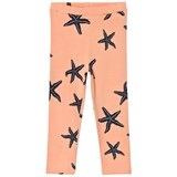 Emma och Malena Peach Starfish Print Leggings