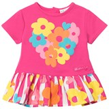 Agatha Ruiz de la Prada Pink Floral and Striped Dress