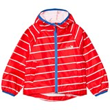 Muddy Puddles Red And White Striped Puddlepac Jacket