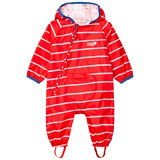 Muddy Puddles Red And White Striped Rain Suit