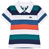 Lacoste Multi Stripe Ribbed Collar Shirt