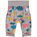 Indikidual Grey Multicoloured Fish Harem Pants