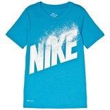 Nike Blue Dry Training T-Shirt