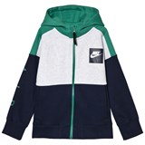 Nike Green and Black Hoodie