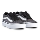 Vans Black Old Skool Lace Glitter Trainers