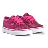 Vans Pink Authentic Glitter Trainers